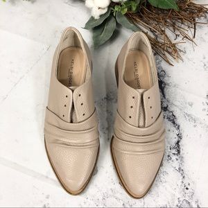 Kelsi Dagger Edison ruched oxford loafers Sz 7.5